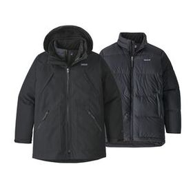 Boys' Tres 3-in-1 Parka, Black (BLK)