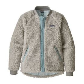 Girls' Retro-X® Bomber Jacket, Tailored Grey (TGY)