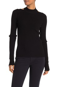 Helmut Lang Stretch Open Back Sweater