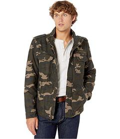 Levi's® Two-Pocket Military Jacket with Polyt