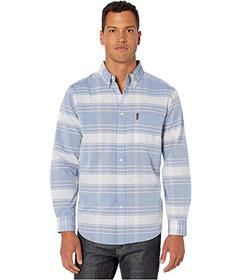 Ben Sherman Long Sleeve Large Plaid Shirt