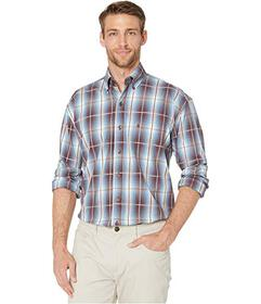 Stetson 9856 Blue Line Plaid