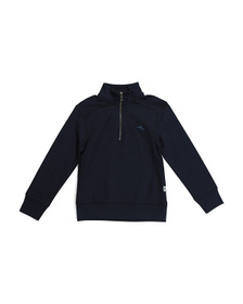 TOMMY BAHAMA Little Boys French Terry Quarter Zip