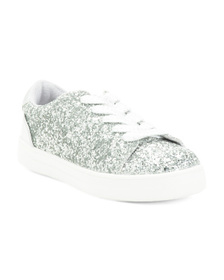 NINA Glitter Lace Up Sneakers (Toddler)