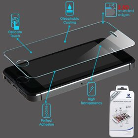For iPhone 5/5S Shatterproof Tempered Glass Screen