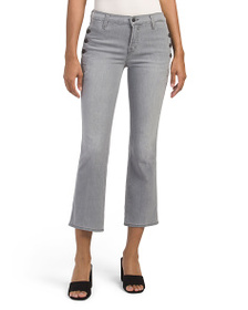 J BRAND Made In Usa Zion Cropped Bootcut Jeans