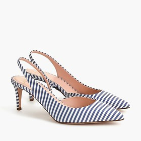 J. Crew Colette strappy slingback d'Orsay pumps in
