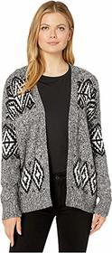 Vince Camuto Long Sleeve Fair Isle Open Front Card