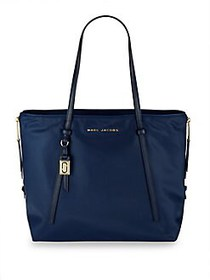 Marc Jacobs Zip That Shopping Tote MIDNIGHT BLUE