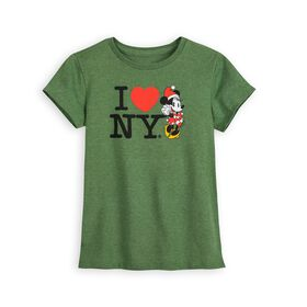 Disney Minnie Mouse Holiday T-Shirt for Girls – I