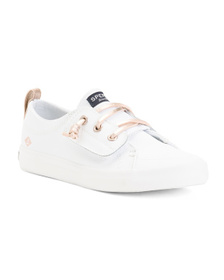 SPERRY Leather Casual Sneakers (Toddler)