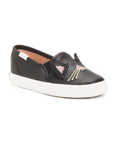 KEDS Cat Slip On Shoes (Toddler)