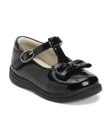 NINA Patent Leather T-strap Dress Shoes (Toddler)