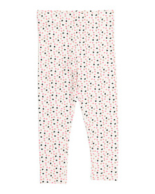 ISAAC MIZRAHI Girls Allover Heart Leggings