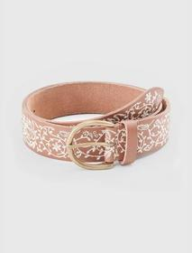 Lucky Brand Paisley Embroidered Belt