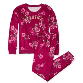 Womens Mommy And Me Beautiful Matching Velour Paja