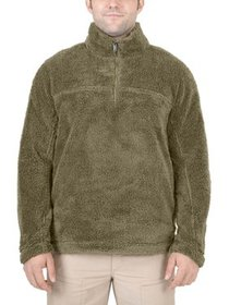 Mountain and Isles Men's Solid Soft Sherpa Pullove