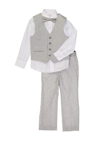 Isaac Mizrahi Solid Suit 4-Piece Set (Baby