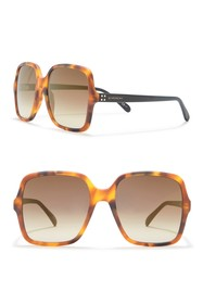 Givenchy Square 55mm Sunglasses