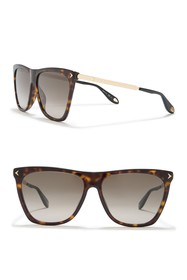 Givenchy Square 58mm Sunglasses