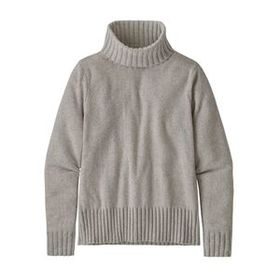 W's Recycled Cashmere Turtleneck, Birch White (BCW