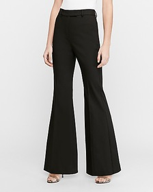 Express super high waisted flare pant