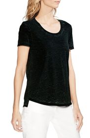 Vince Camuto Scooped Burnout Tee