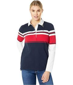 Tommy Hilfiger Long Sleeve Stripe Rugby