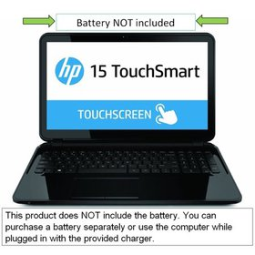 """HP Touchsmart 15.6"""" Touchscreen Laptop PC with AMD"""