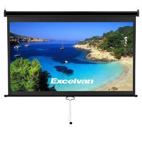 Excelvan Manual Projector Screen with Auto Locking
