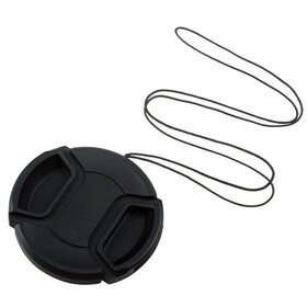Insten 55mm Front Lens Cap Hood Cover Snap-on for