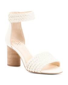 VINCE CAMUTO Woven City Leather Sandals