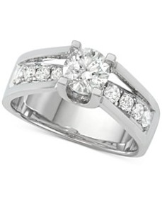 Diamond Engagement Ring (1-5/8 ct. t.w.) in 14k Wh