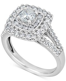 Diamond Engagement Ring (1-3/8 ct. t.w.) in 14k Wh