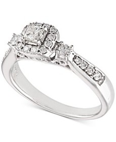 Diamond Engagement Ring (1/2 ct. t.w.) in 14k Whit