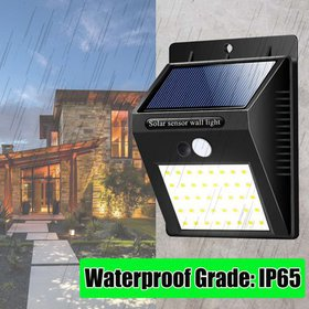 40 LED Security Solar Lights Outdoor Wireless Moti