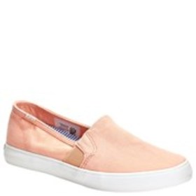 KEDS Keds Clipper Womens Canvas Slip-On Sneakers