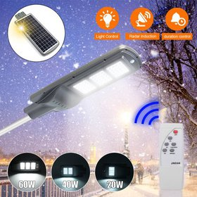 5IN1 Solar Lights Outdoor, 60W Wireless Light Cont