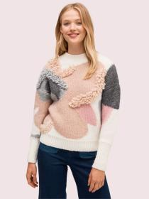 textured bloom sweater