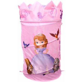 Disney Sofia the First Laundry Pop-Up Hamper with