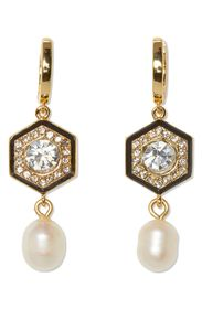 Vince Camuto 8mm Freshwater Pearl & Crystal Double
