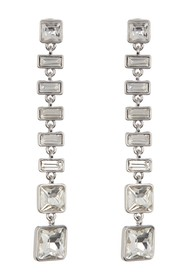 Vince Camuto Square & Rectangle Crystal Linear Dro