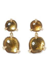 Vince Camuto Double Drop Resin Earrings