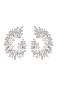 Vince Camuto Drama Wrap CZ Drop Earrings