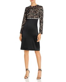 Tory Burch - Lace Color-Blocked Dress