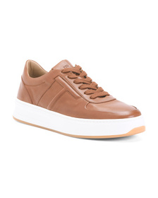TODS Men's Made In Italy Leather Sneakers