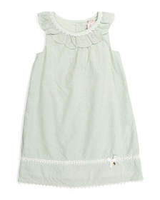CATHERINE MALANDRINO Toddler Girls Embroidered Dre