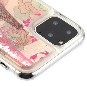 For Apple iPhone 11 Pro Max Pink Eiffel Tower Quic