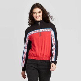 Women's Apres Ski Collared 1/4 Zip Sweatshirt - We