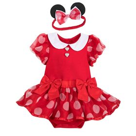 Disney Minnie Mouse Costume Bodysuit for Baby – Re